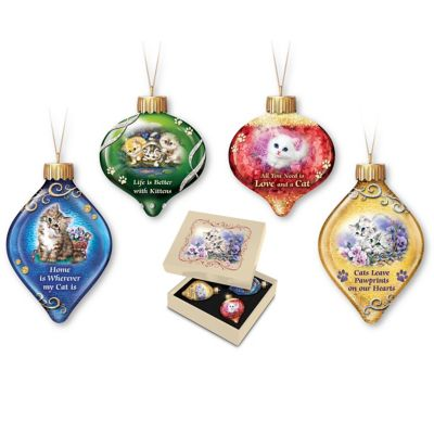 Tails To Treasure Ornament Collection by