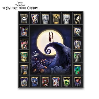 The Nightmare Before Christmas Collection And Custom Display by