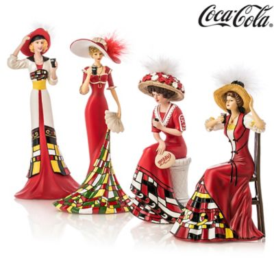 COCA-COLA® Women Figurine Collection by