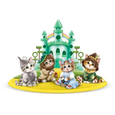 Wizard Of Oz Kitten Figurines From Artist Kayomi Harai by