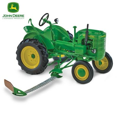 1:16-Scale John Deere Diecast Tractors With Plows Collection by