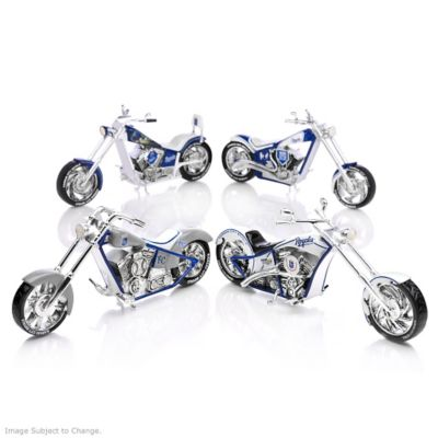 Kansas City Royals Chopper Figurines With Logos And Graphics by