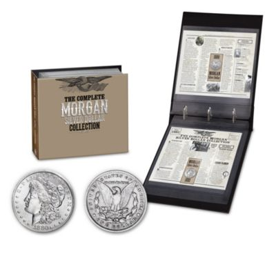 Morgan Silver Dollars Of The Wild West With Album: 1878-1921 by