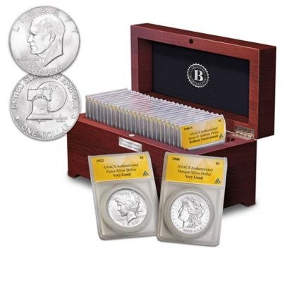 The Complete 20th Century U.S. Silver Dollar Coin Collection by