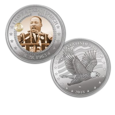 Martin Luther King Jr. Commemorative Proof Coin Collection by