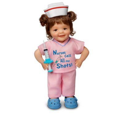 Cheryl Hill Lifelike Miniature Dolls Honor Nurses by