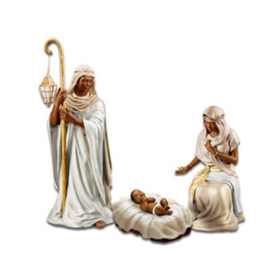 King Of Peace Nativity Figurine Collection African