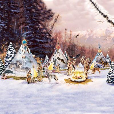 Thomas Kinkade Christmas Plates