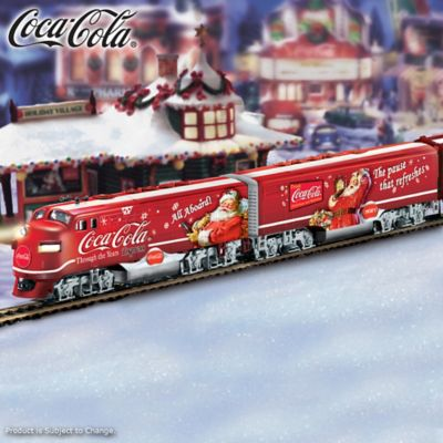 The COCA-COLA Through The Years Express Train by