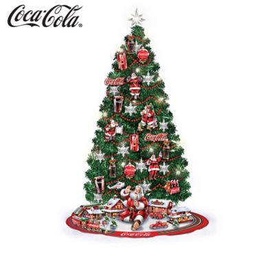 COCA-COLA Illuminated 3-Foot Christmas Tree Collection by