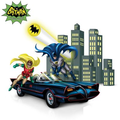BATMAN & ROBIN Figurine Collection With Lights And Music by