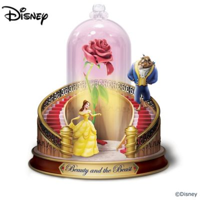Disney Beauty And The Beast Lit Musical Figurine Collection by