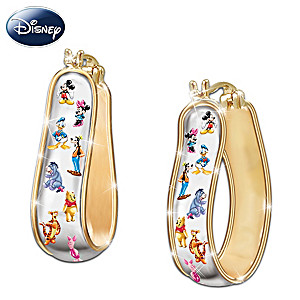 The Disney 15-Character Reversible Earrings