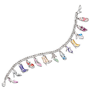 The Ultimate Shoe Lover's Charm Bracelet