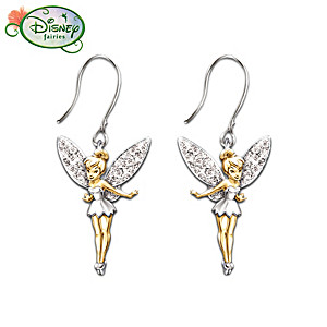 "Disney Tinker Bell ""Believe"" Earrings"