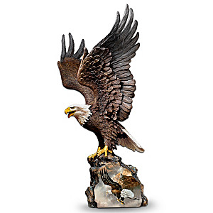 "Ted Blaylock ""Canyon Guardian"" Eagle Art Sculpture"