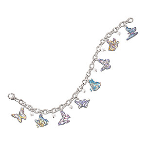 "Lena Liu ""On Graceful Wings"" Charm Bracelet"