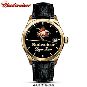 """KING OF BEERS"" Budweiser Men's Collector Watch"