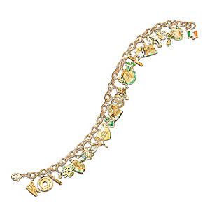 The Ultimate Irish 26-Charm Bracelet
