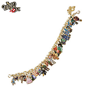 The Ultimate 34-Charm Wizard Of Oz Bracelet