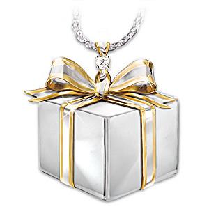 """""""Grandma's Gift"""" Diamond Pendant For Granddaughter"""