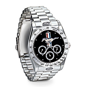 Official Ford Mustang Men's Chronograph Watch