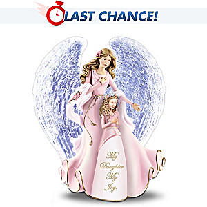 """""""My Daughter My Joy"""" Crystal Figurine For Daughter"""