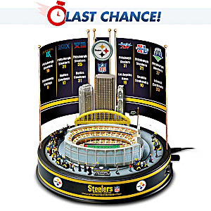 Pittsburgh Steelers Super Bowl Musical Carousel