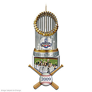 New York Yankees 2009 World Series Champions Ornament
