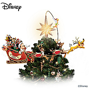 Illuminated Rotating Disney Tree Topper