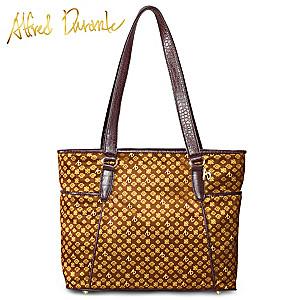 """Alfred Durante """"Madrid"""" Signature Designer Tote Bag"""