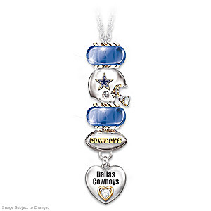 Go Cowboys! #1 Fan Charm Necklace