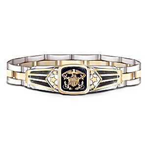 """Show Your Pride"" U.S. Navy Men's Bracelet"