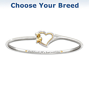 """Faithful Friend"" Dog Bracelet"