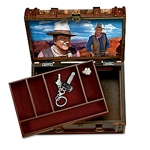 John Wayne Trunk-Style Valet With Hidden Compartment