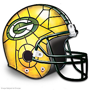 Green Bay Packers Football Helmet Accent Lamp