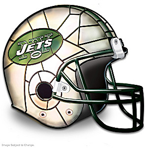 New York Jets Football Helmet Accent Lamp