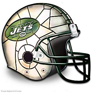 New York Jets Football Helmet Accent Lamp