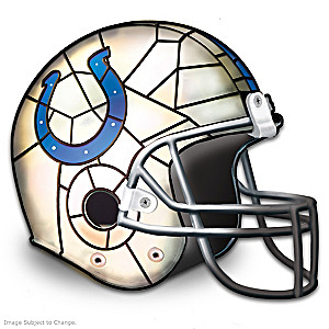 Indianapolis Colts Football Helmet Accent Lamp