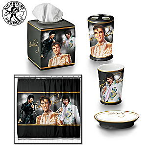 The Elvis Presley Bath Ensemble 6-Piece Accessories Set