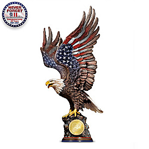 Limited-Edition September 11 Tribute Eagle Sculpture