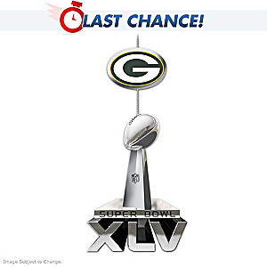 Packers Super Bowl XLV Ornament Limited To Just 2,011