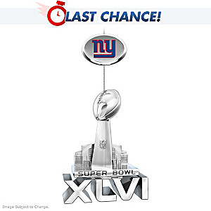 New York Giants Super Bowl XLVI Champions Ornament