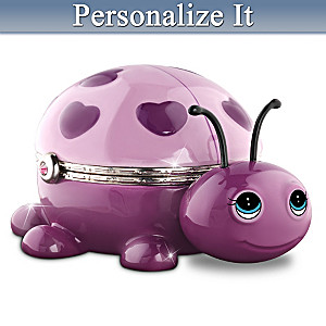 """Cute As A Bug"" Birthstone Granddaughter Music Box"