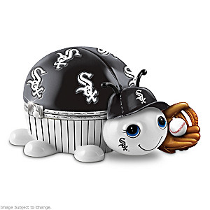 Chicago White Sox Love Bug Heirloom Porcelain Music Box