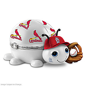 St. Louis Cardinals Love Bug Heirloom Porcelain Music Box