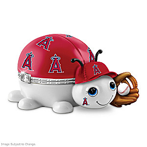Los Angeles Angels Love Bug Heirloom Porcelain Music Box