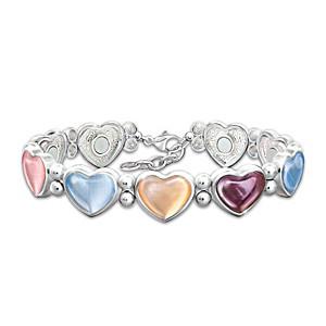 """Healing Hearts"" Magnetic Bracelet"