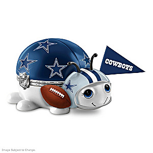 Dallas Cowboys Bug Heirloom Porcelain Music Box