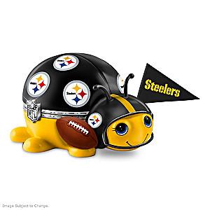 Pittsburgh Steelers Bug Heirloom Porcelain Music Box